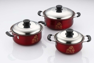 China Durable Kitchen Cookware Sets Ss410 # 0.5mm Thickness Strong And Immune To Rust supplier