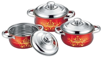 Custom Stainless Steel Cooking Pans , Professional Stainless Steel Pots And Pans