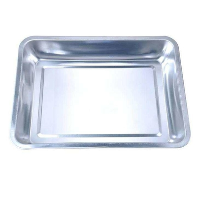 Durable Stainless Steel Rectangular Tray , Custom Stainless Steel Serving Trays