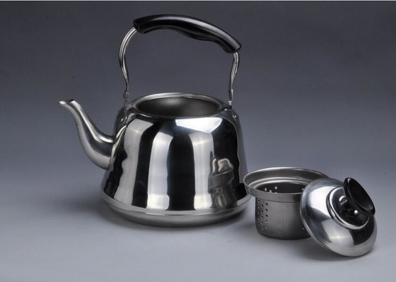 Full Polished Stainless Steel Whistling Kettle Strong And Immune To Rust