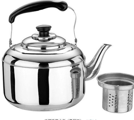High Heat Efficiency Stainless Steel Tea Kettle Mirror Polish Inside And Outside