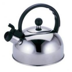 Silver Color Stainless Steel Tea Kettle / 3.0L To 7L Whistling Teapots Kettles
